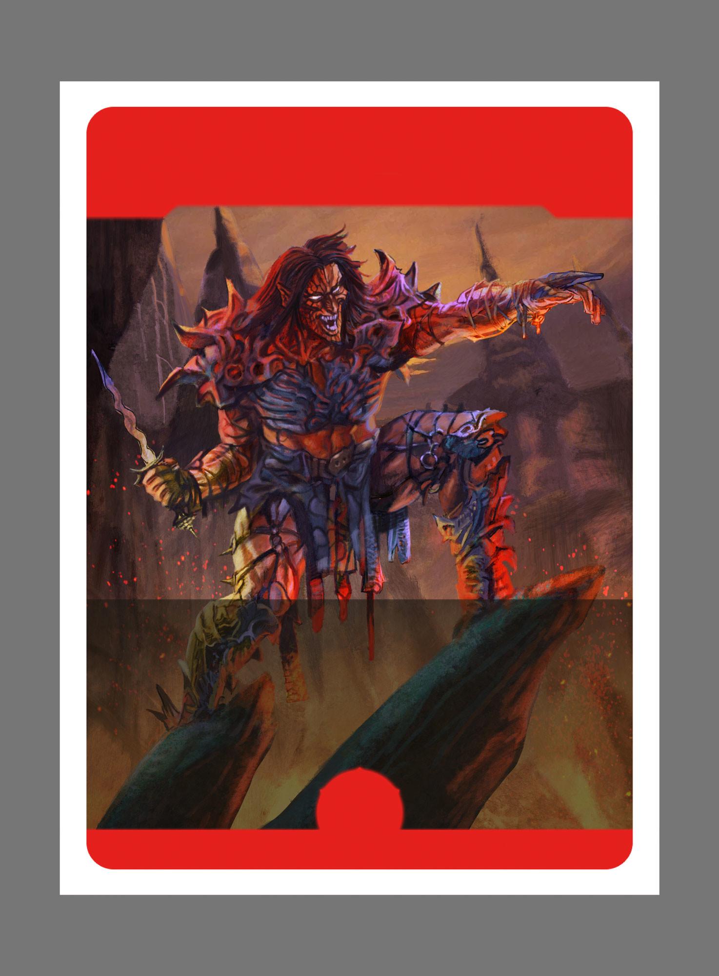 Daniele afferni daniele afferni artist dragoborne commanderkrict illustration wip