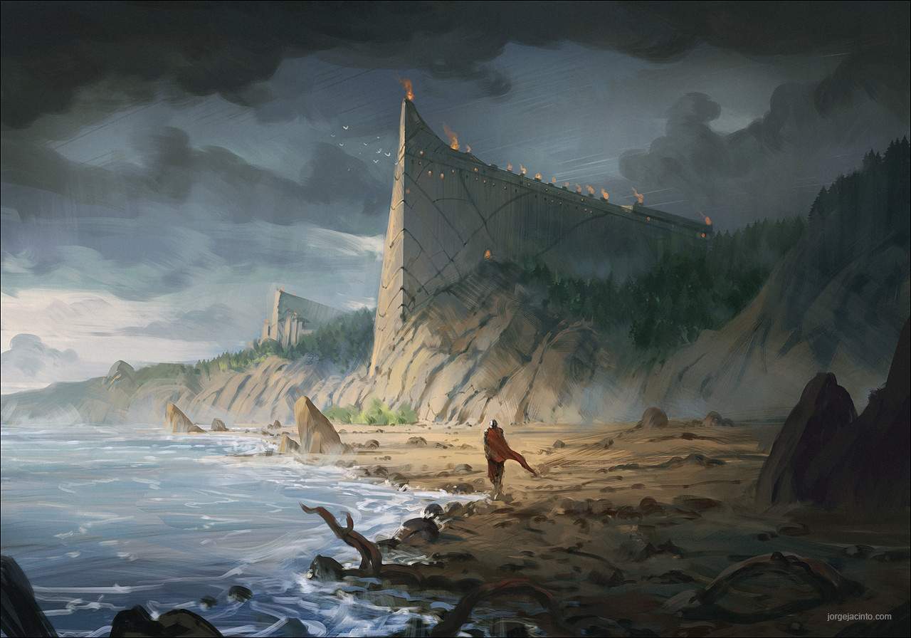Jorge jacinto coastal fortress red