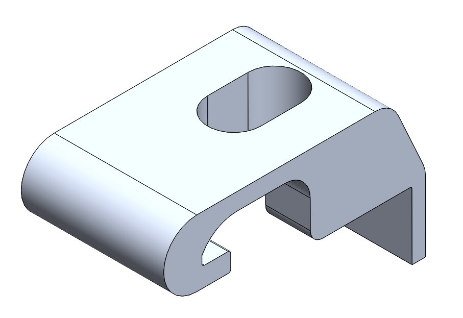 New fastening clip for ease of install.