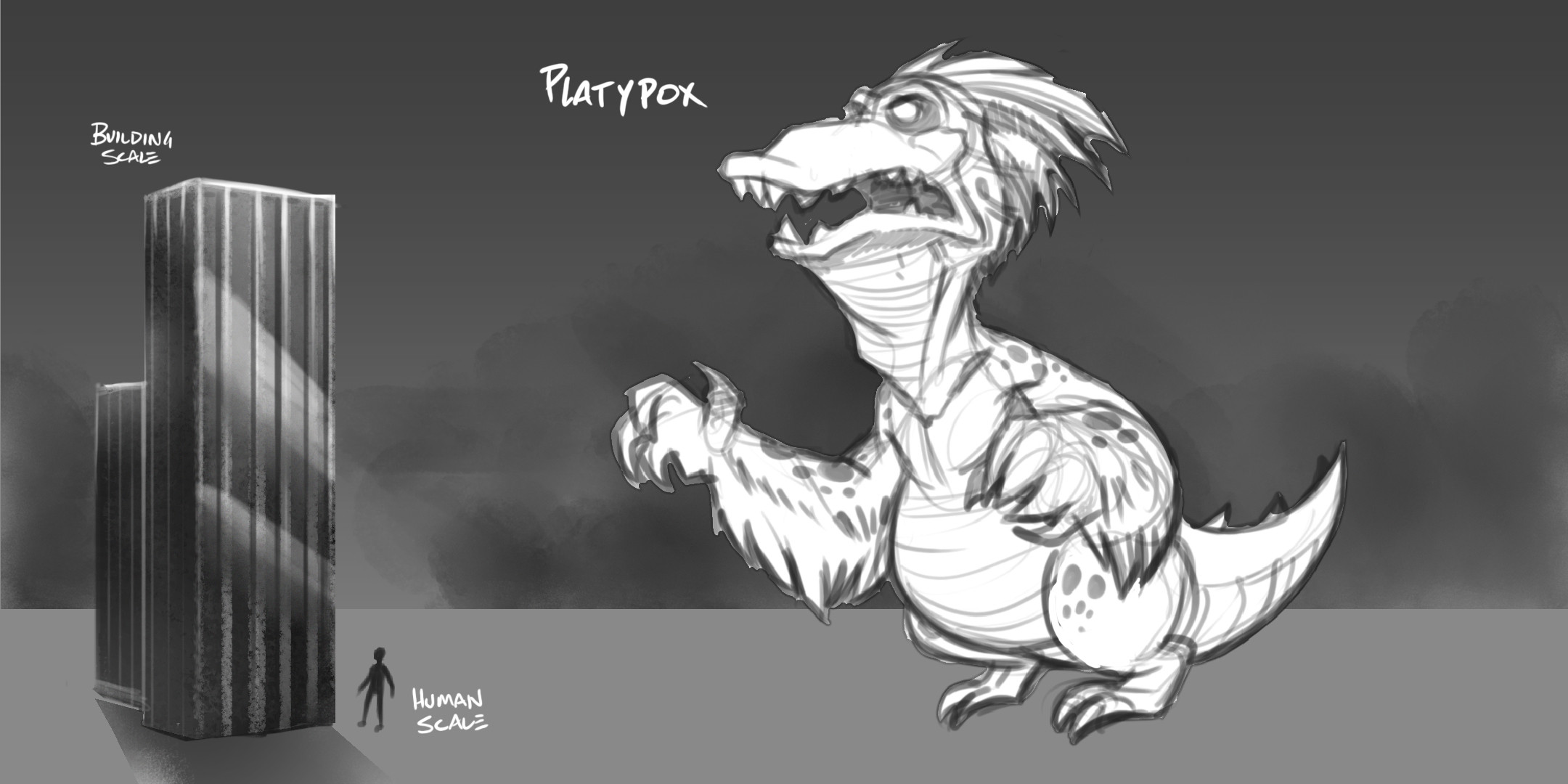 Concepts for the monster for the possibility of a 3rd person view for stream viewers