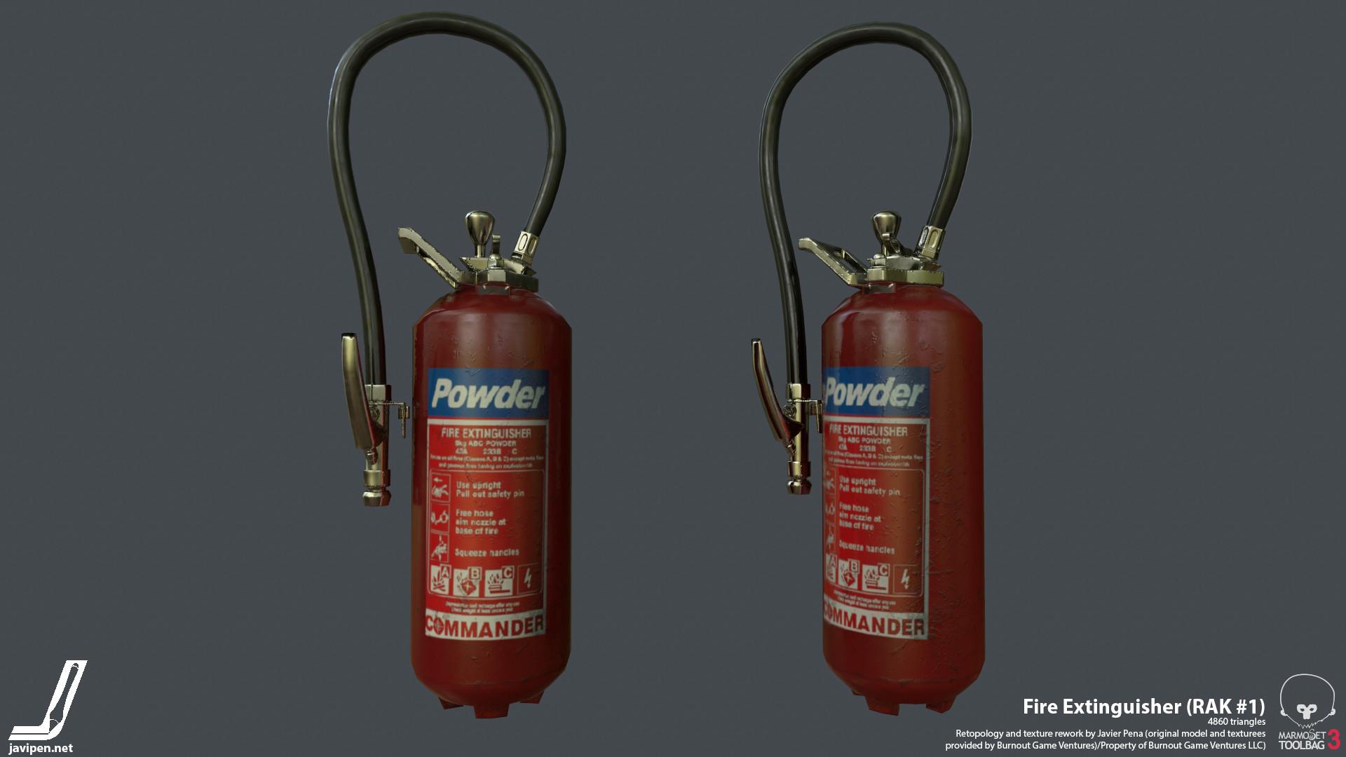 Javier pena fireextinguisher