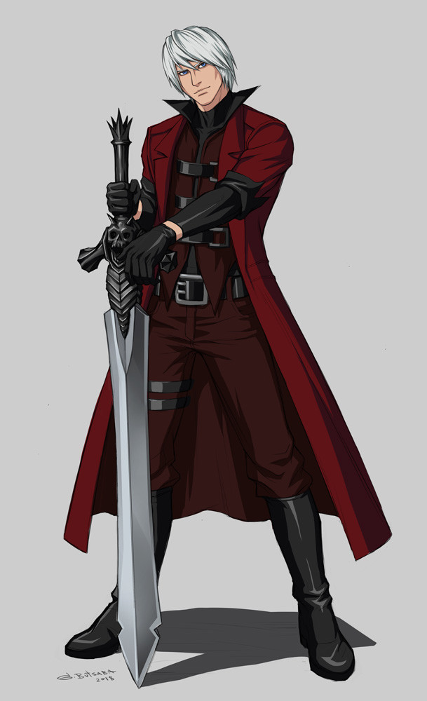 Artstation Dante Devil May Cry Anime Ver Guay Butsaba