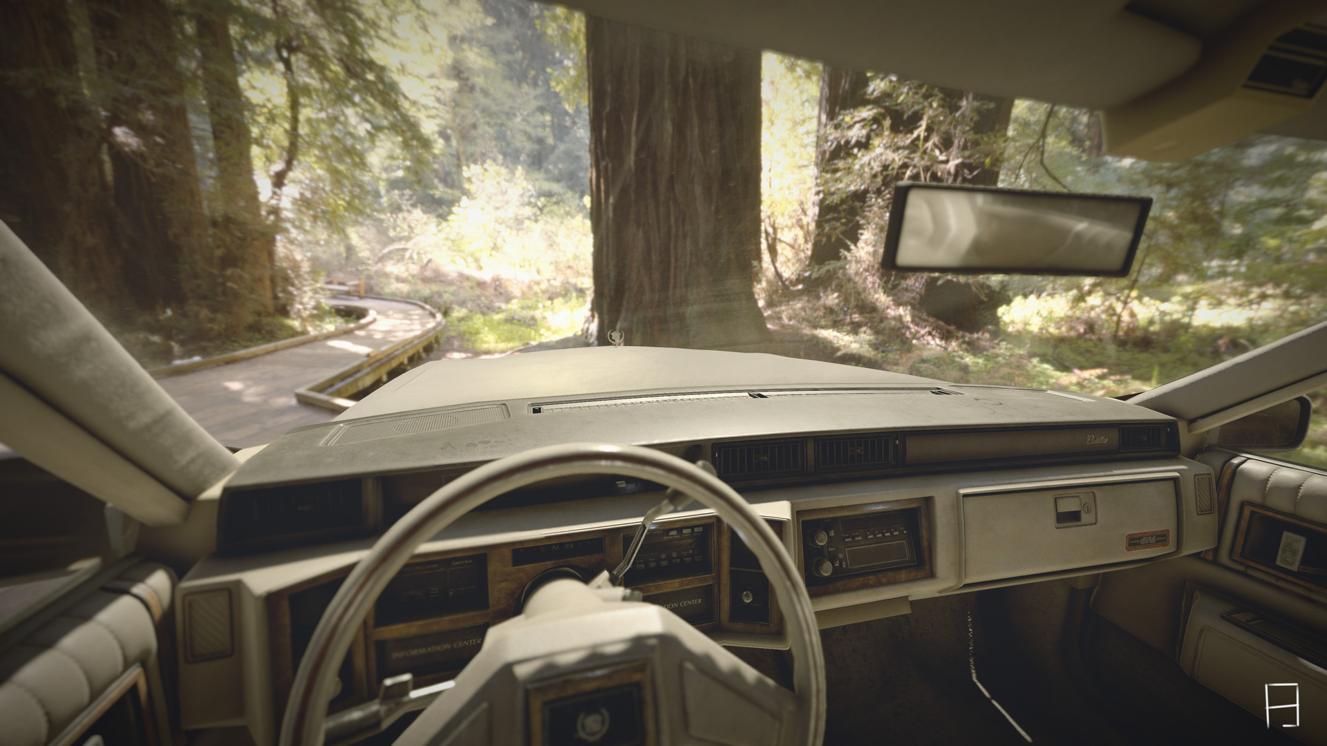 ArtStation - 1986 Cadillac DeVille for Unity 2017 3 VR Experience