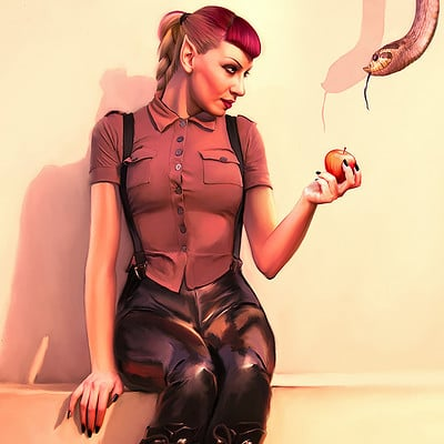 Oliver wetter the poisoned apple