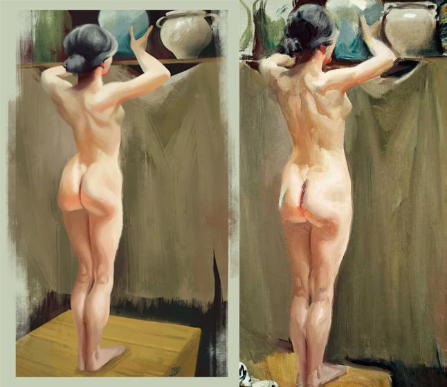 Sara ruiz prado desnudo de mujer de sorolla 2