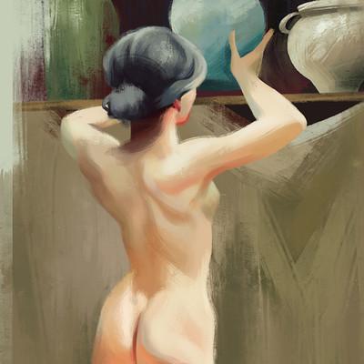 Sorolla Study Painting
