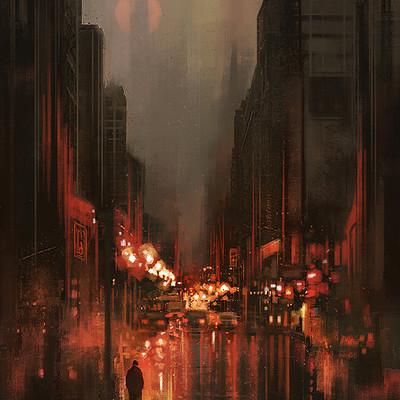 Luca merli city rain