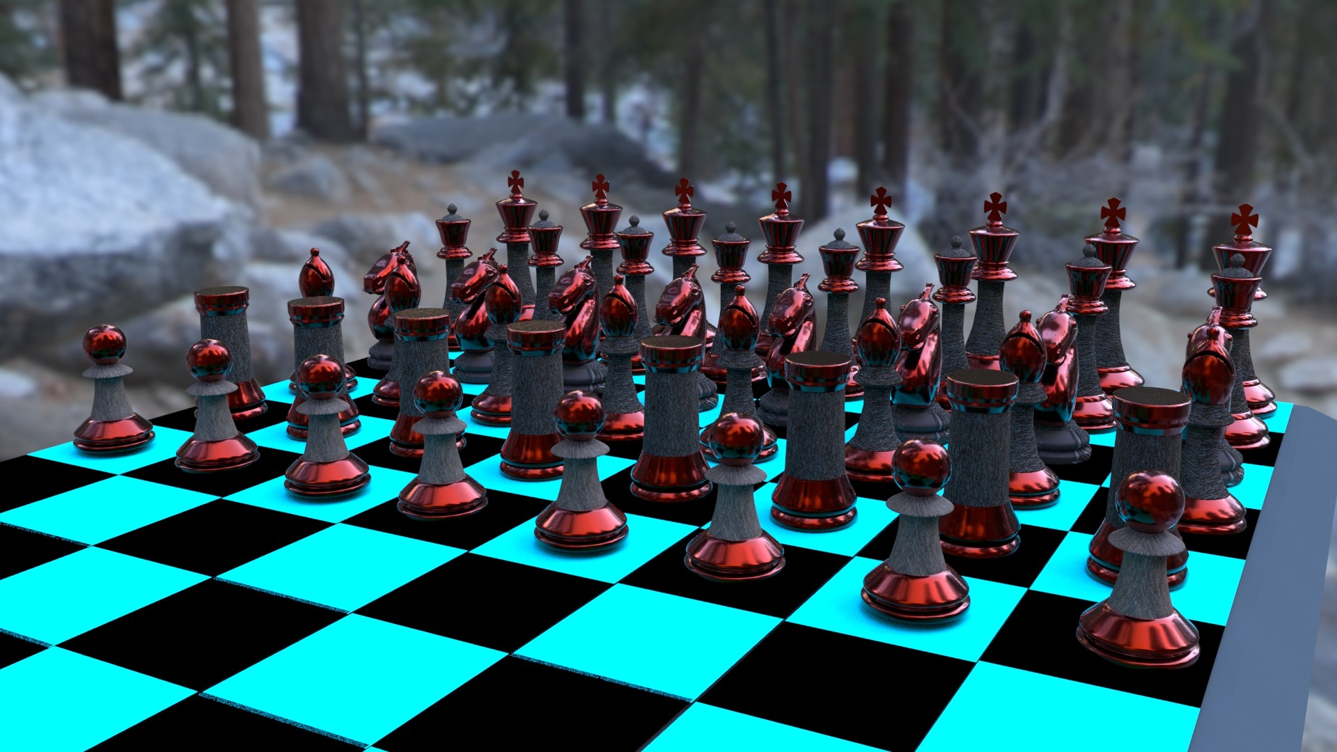 Kevn Palencia - Chess Board Project