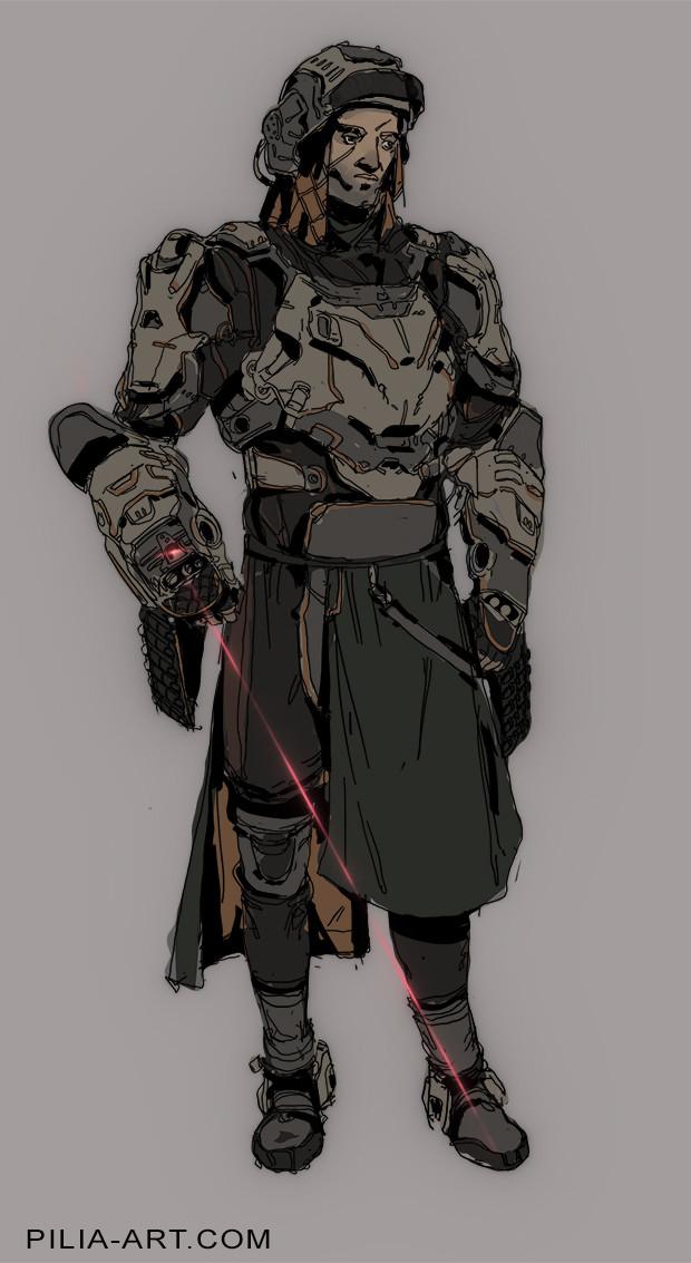 Sci-Fi Mercenary