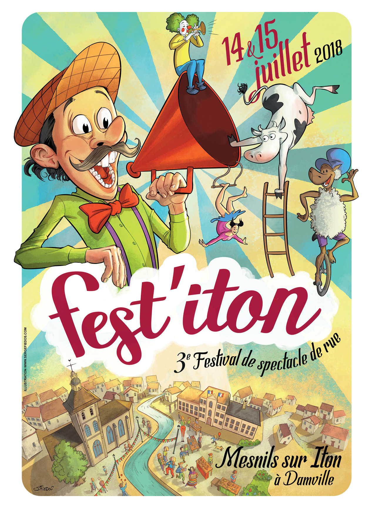 Serge fiedos festiton poster by serge fiedos