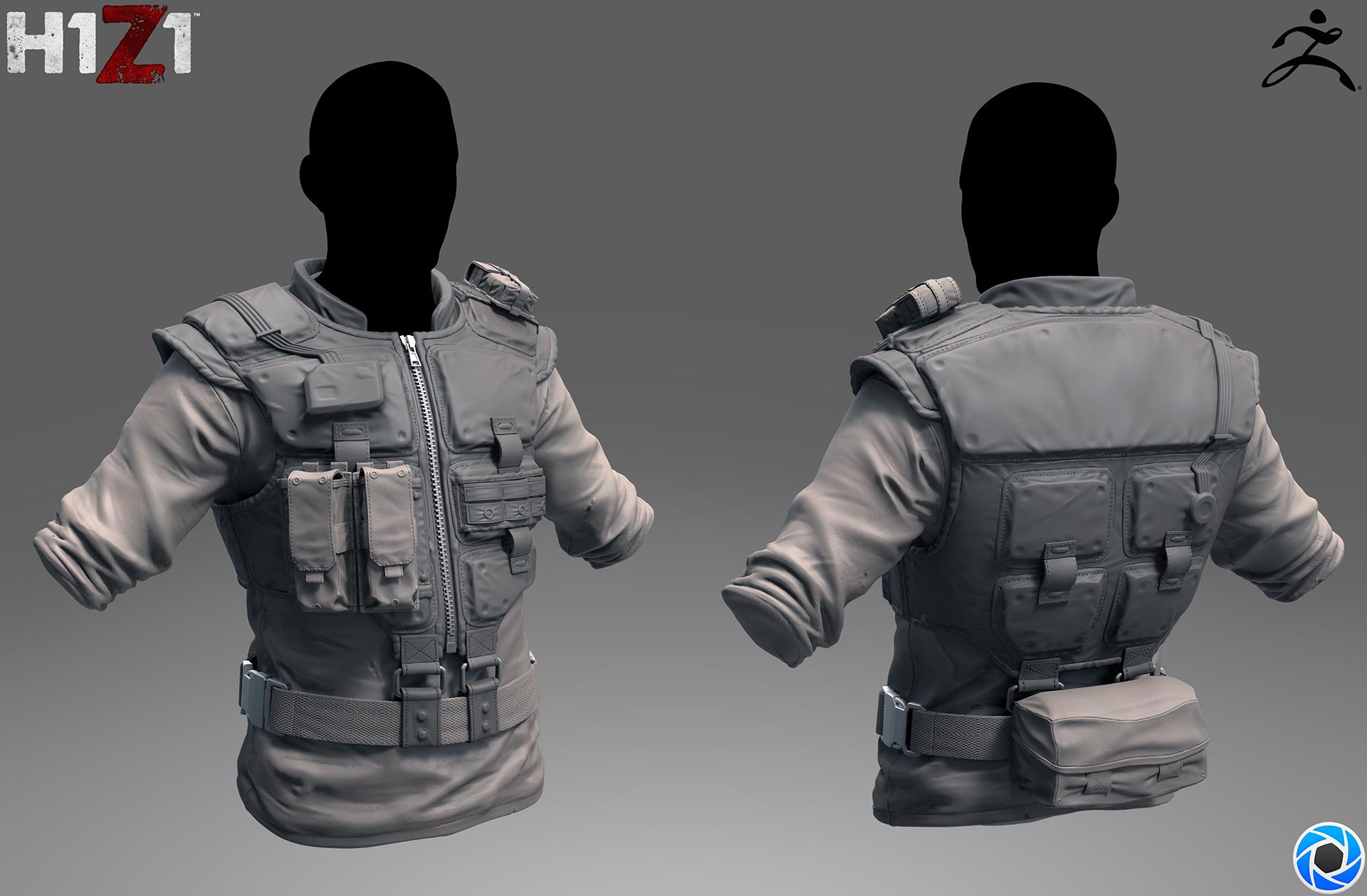 Satoshi arakawa tech vest sculpt
