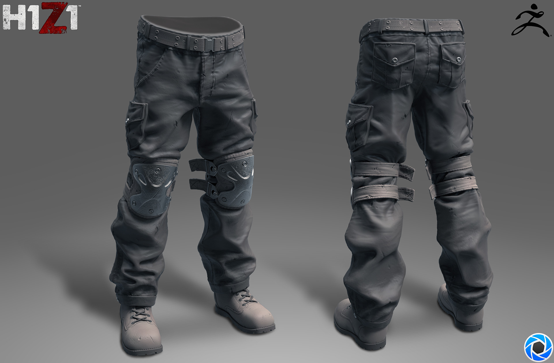 Satoshi arakawa kneepx pants sculpt