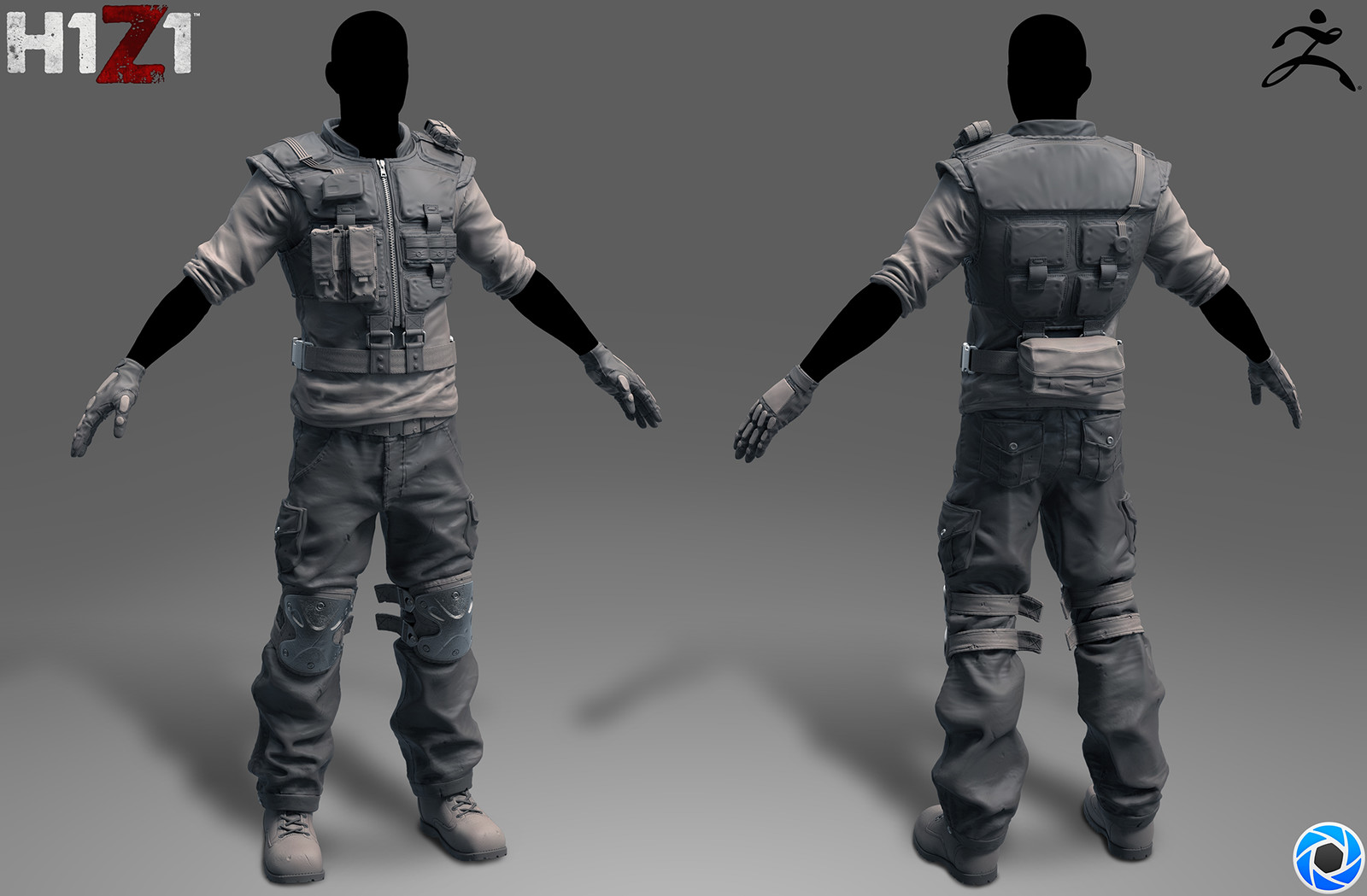 H1Z1 Tactical Outfit 1