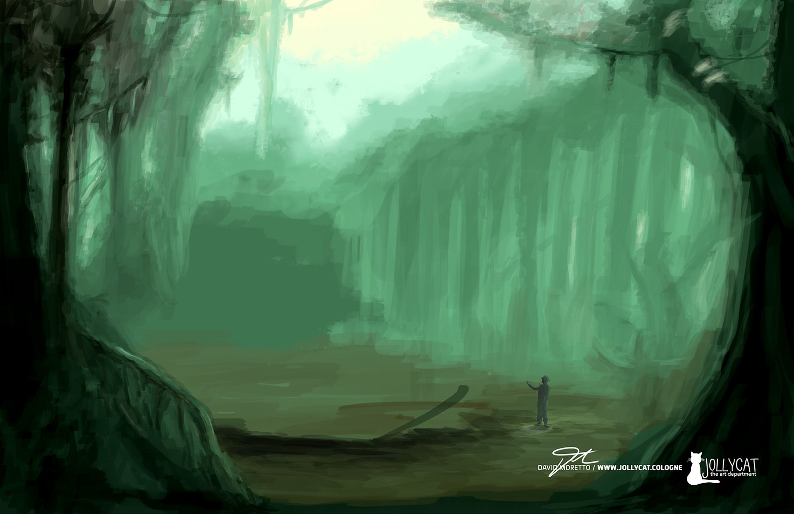 first version of the jungle the setting