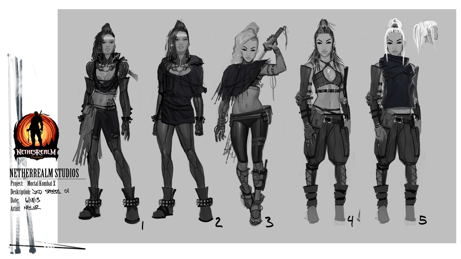 ArtStation - Jacqui Briggs Character Exploration, marco nelor