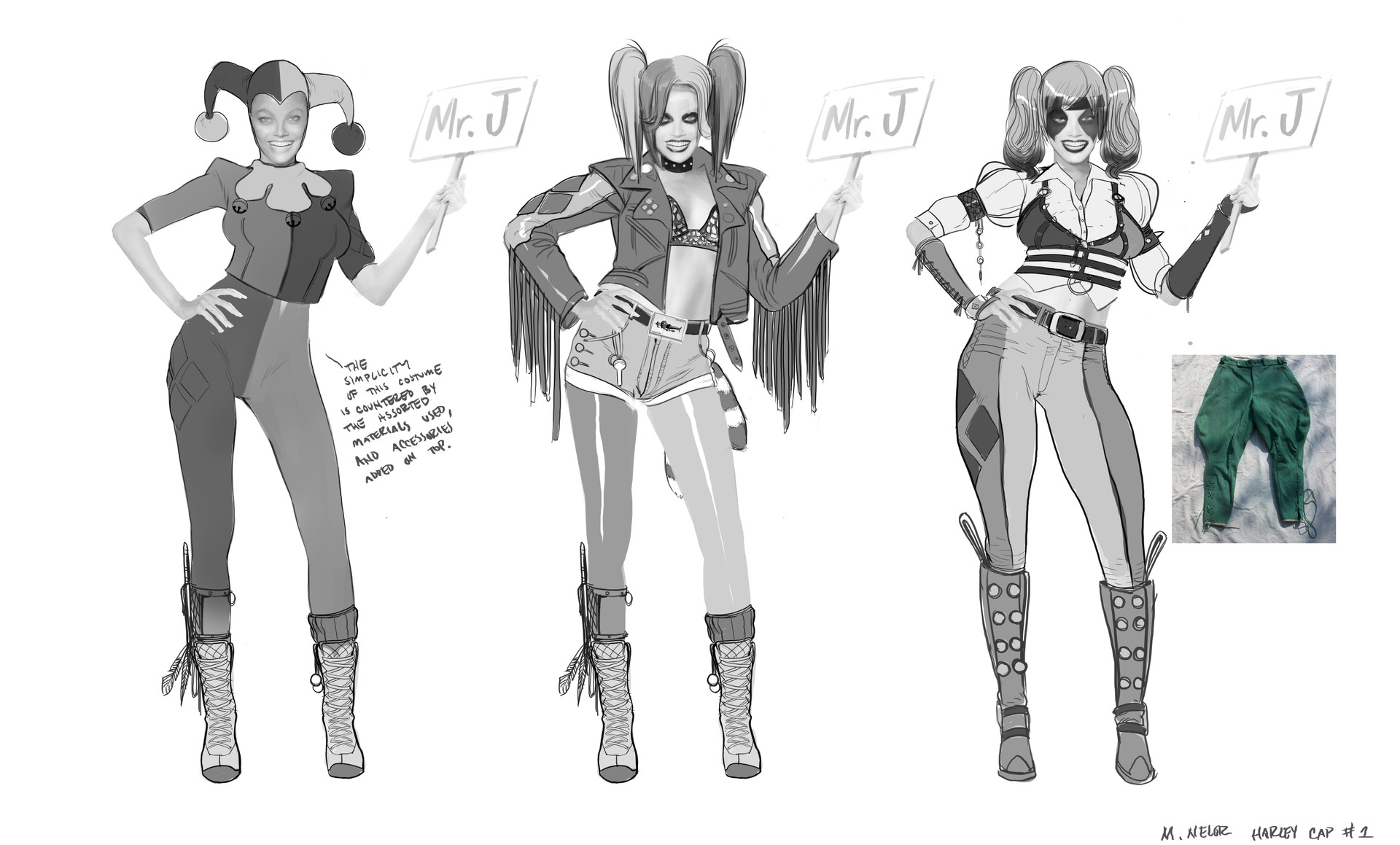 Artstation Harley Quinn Weapon Designs Marco Nelor