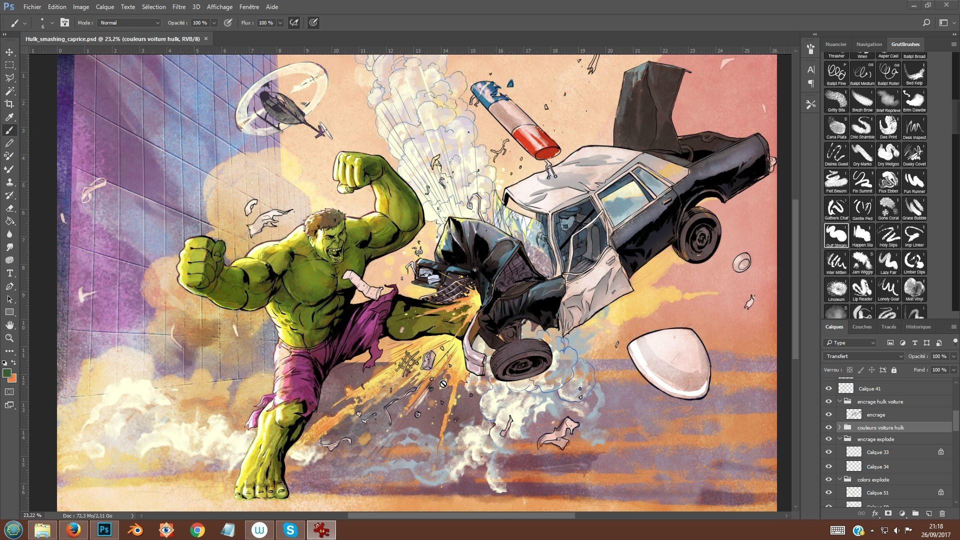 Serge fiedos 08 hulk smashing caprice almostdone by serge fiedos