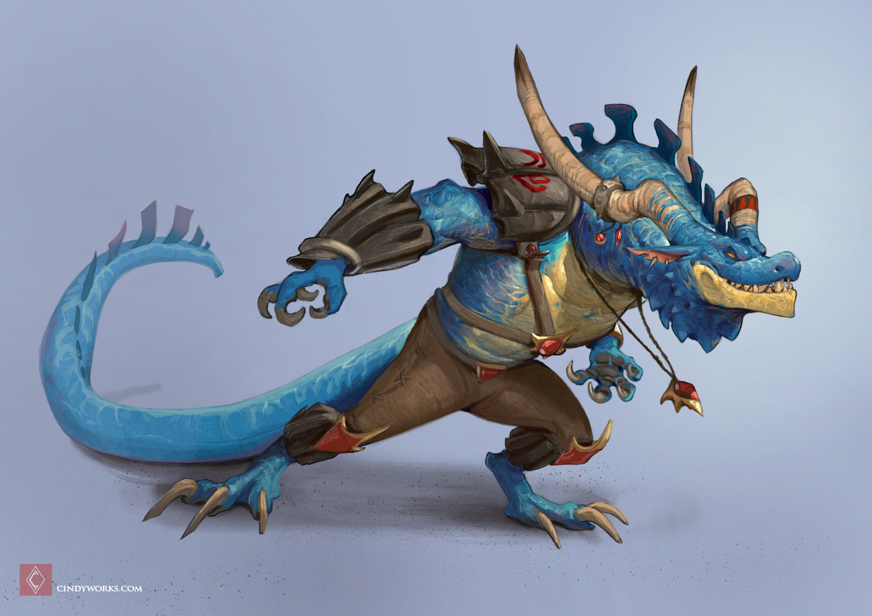 Regulus - Dragon character redesign