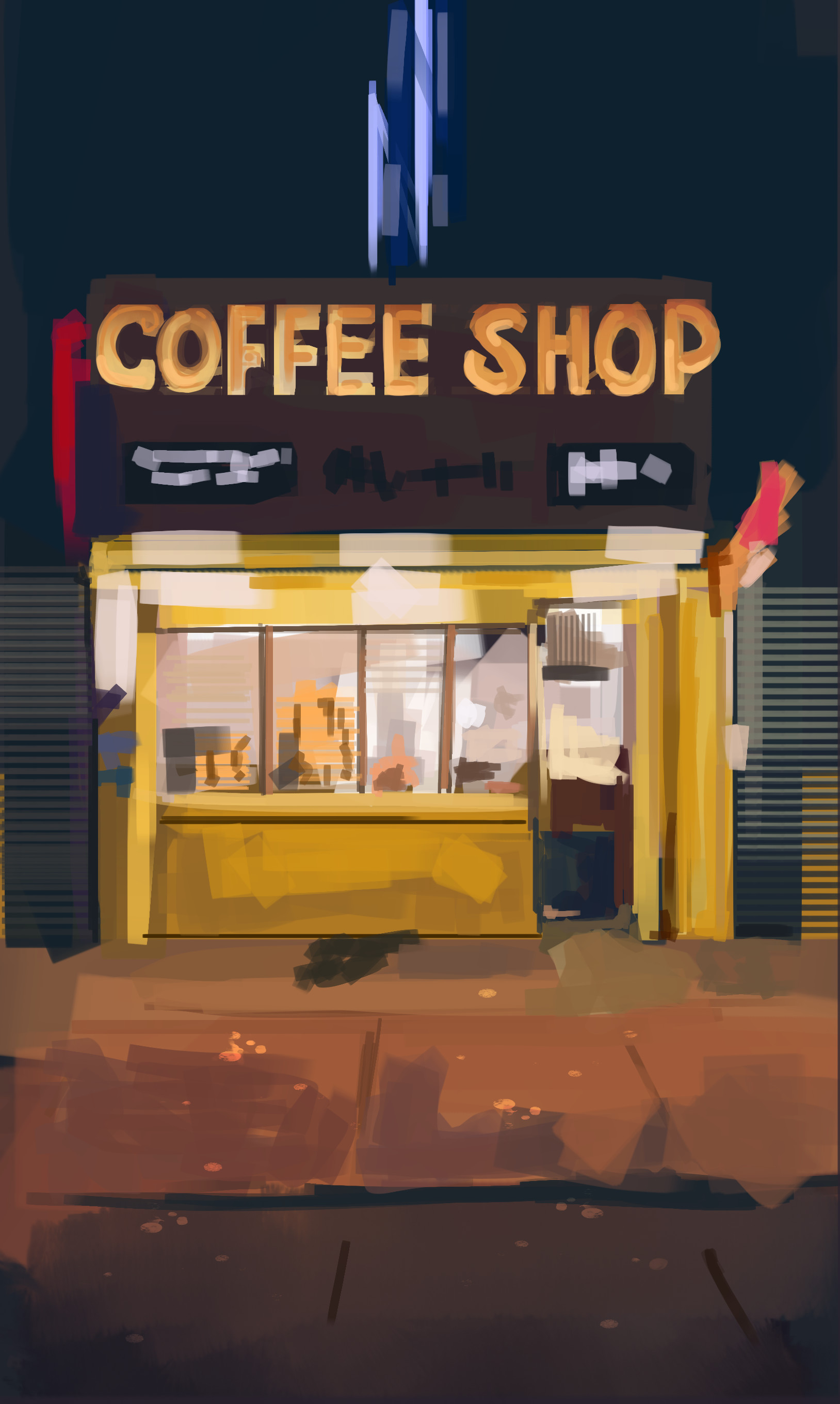 Jack dowell coffee shop