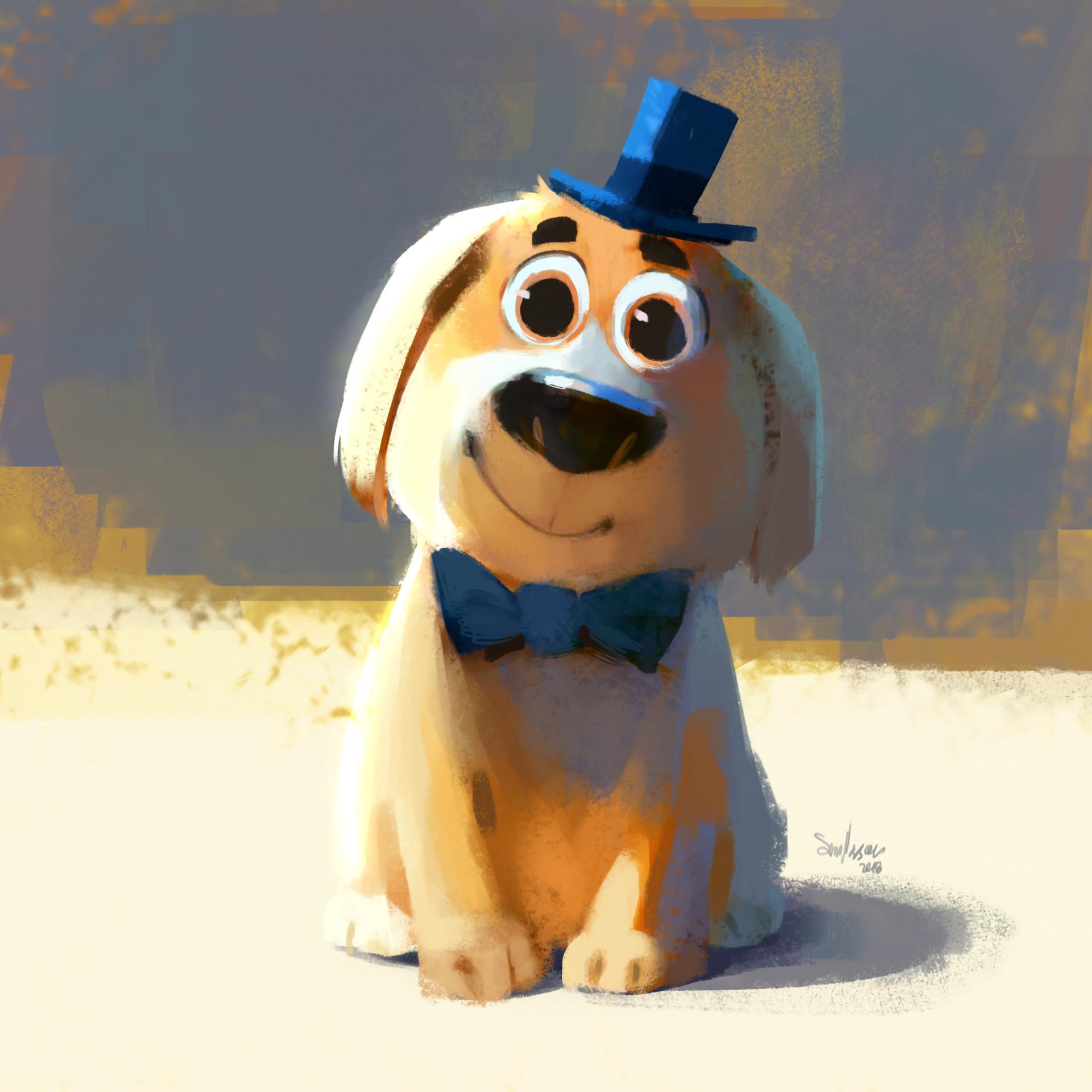 Sam nassour pup