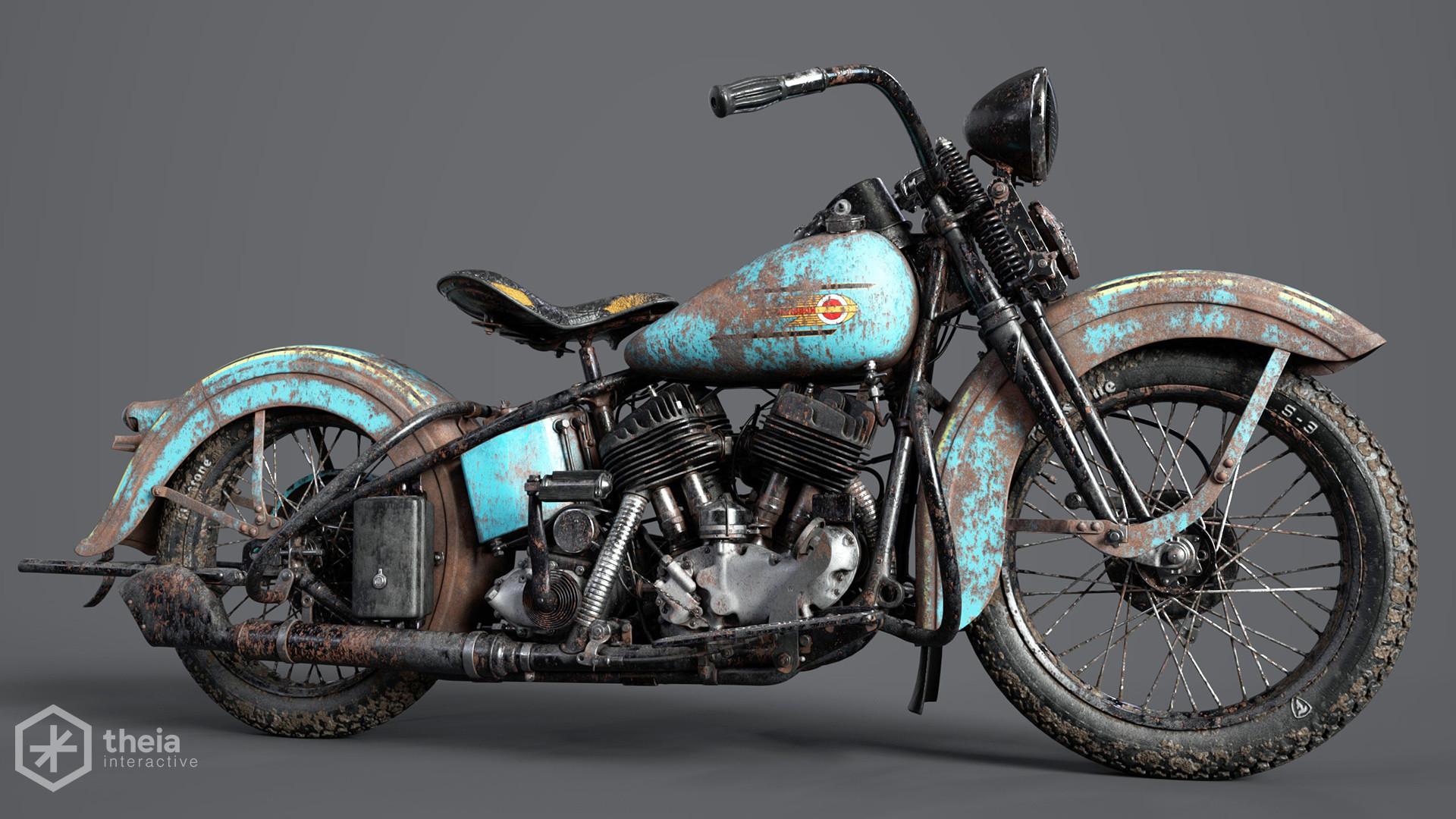 Artstation Harley Davidson Project Cameron Schulz