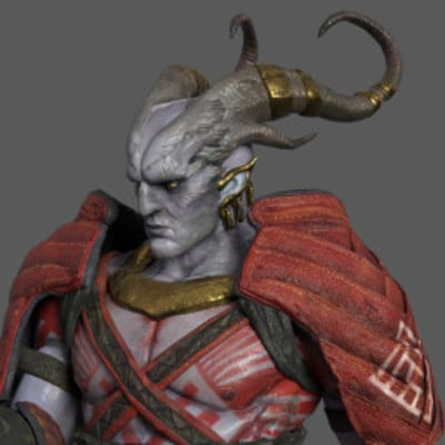 The Arishok of Dragon Age II