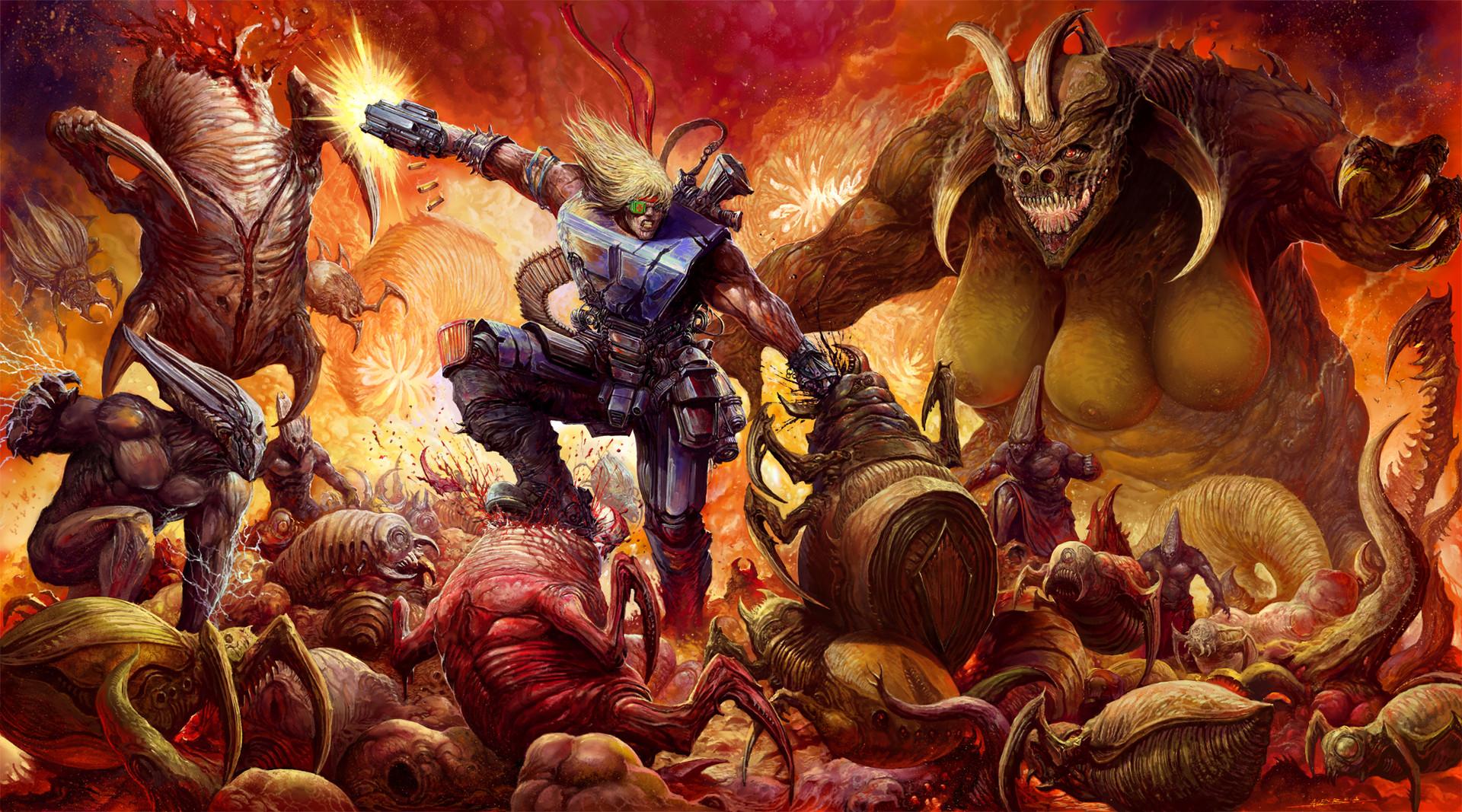 Alex Boca - Sturmfront - The Mutant War