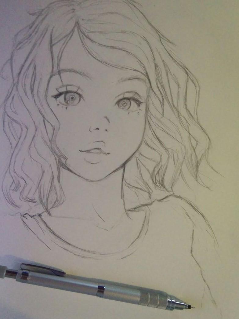 Chloe - sketch