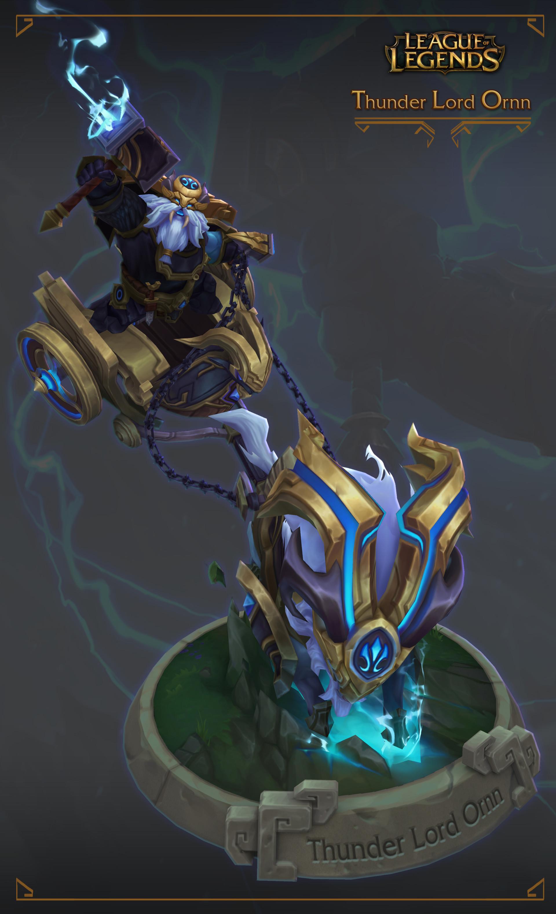 ArtStation - Thunder Lord Ornn, Duy Khanh Nguyen