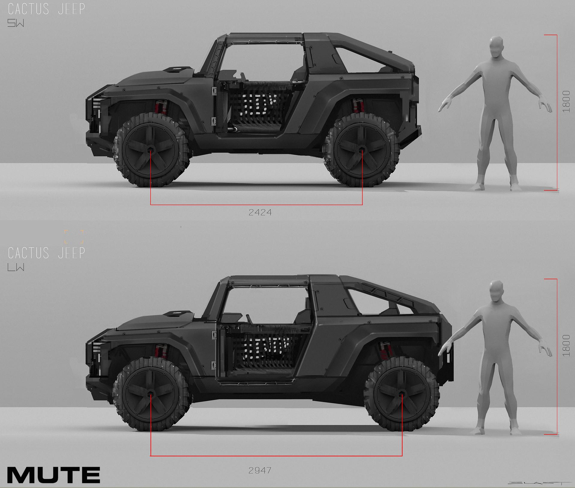 Benjamin last mute jeep side wb blast