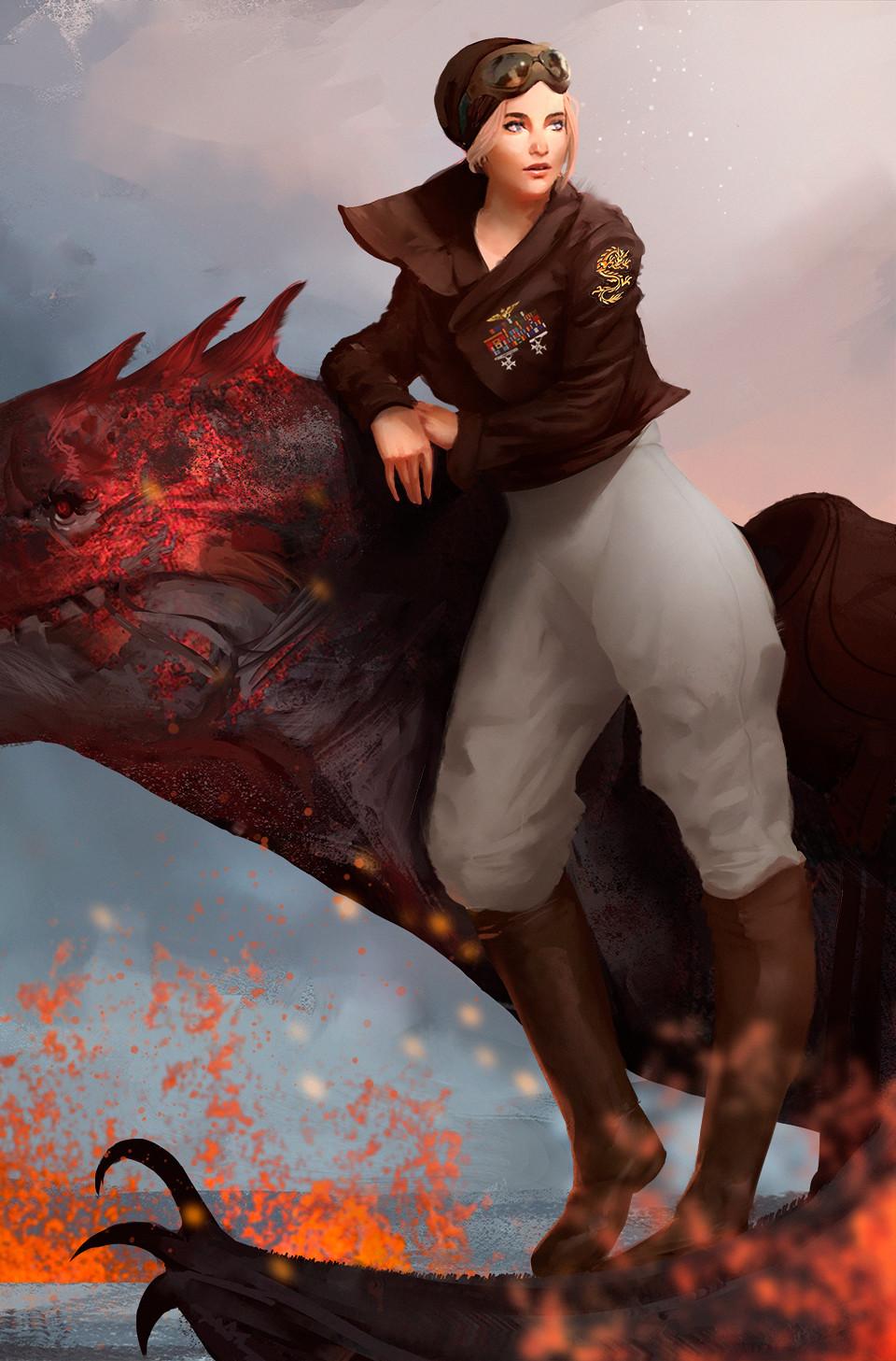 Nancy Brown - Dragon Rider