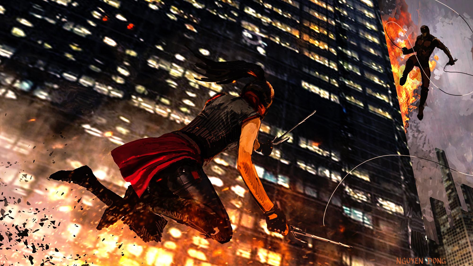 Elektra vs. Daredevil