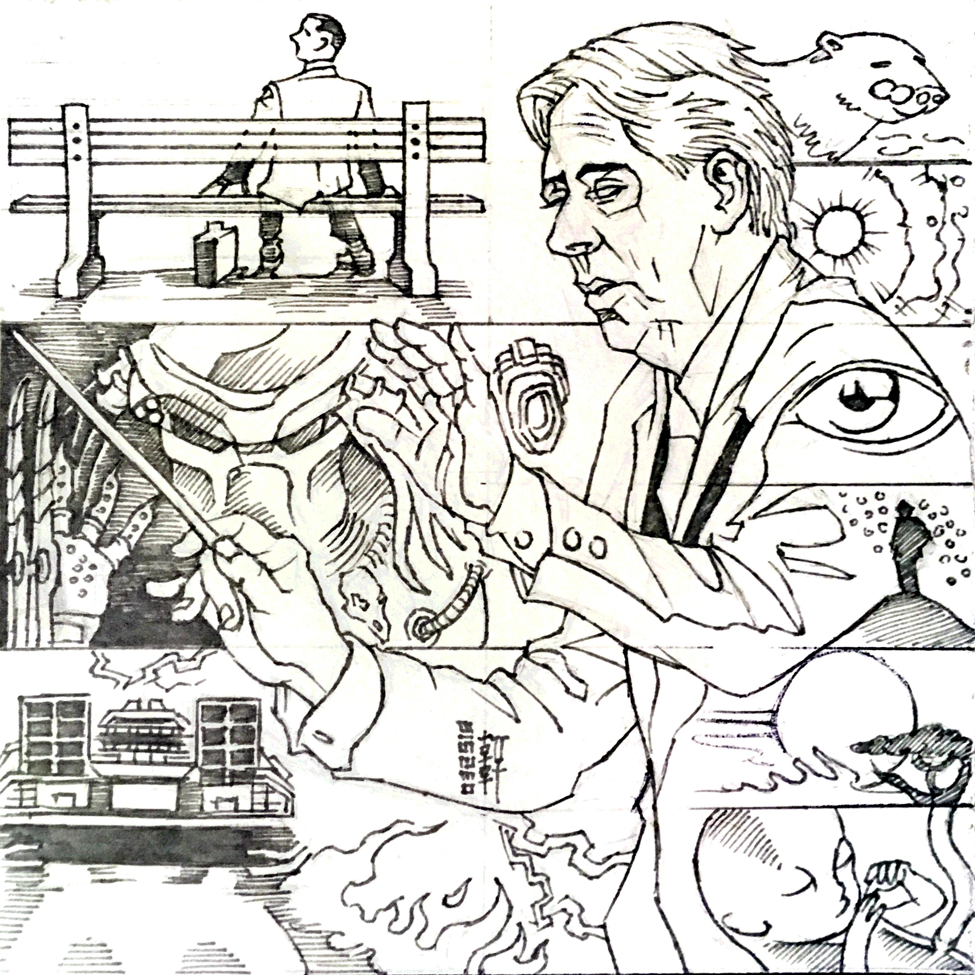Day 03-26-18 - Alan Silvestri Sketch