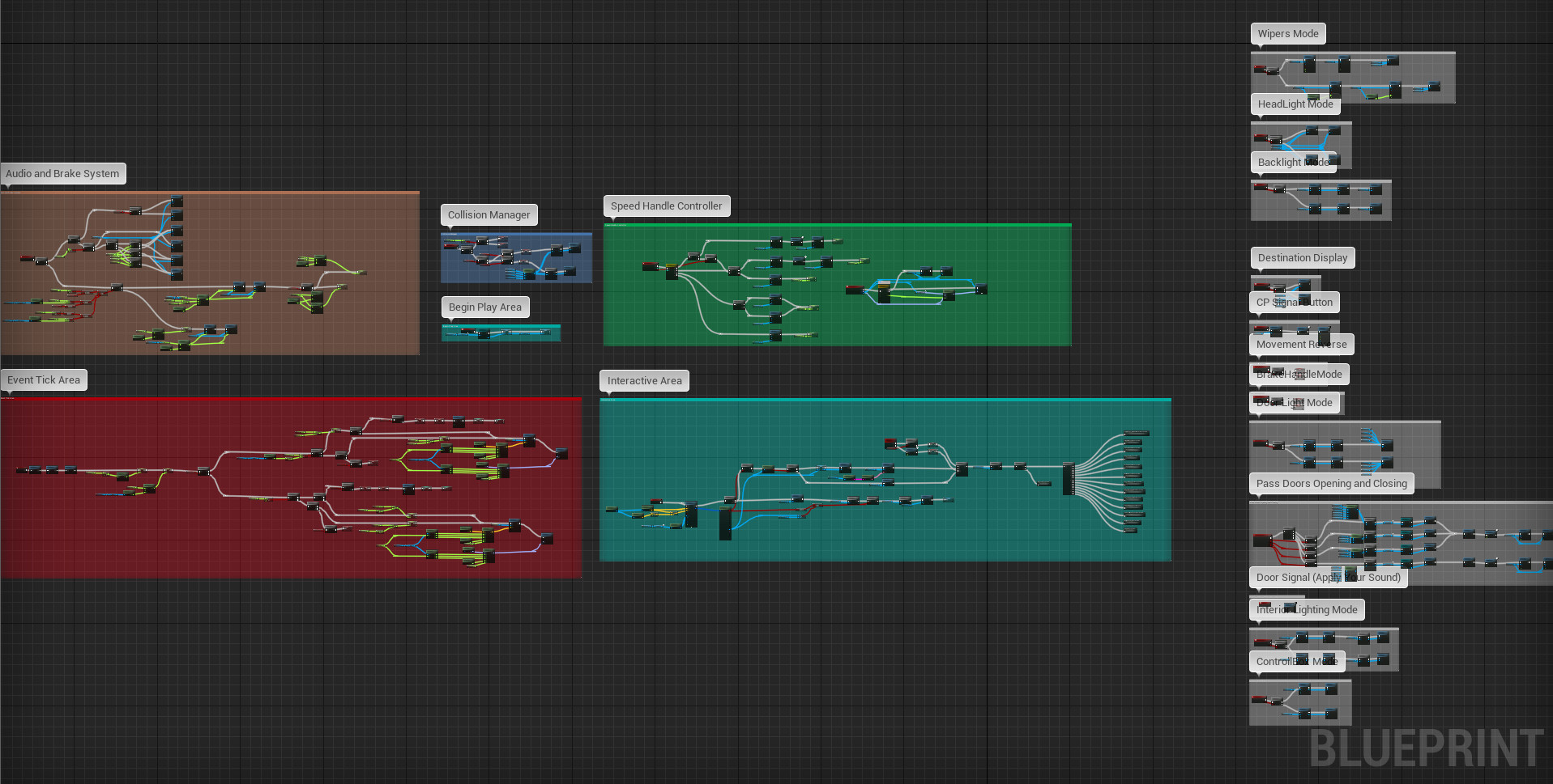 ArtStation - UE4 Procedural Subway Template, Mark Kirillov