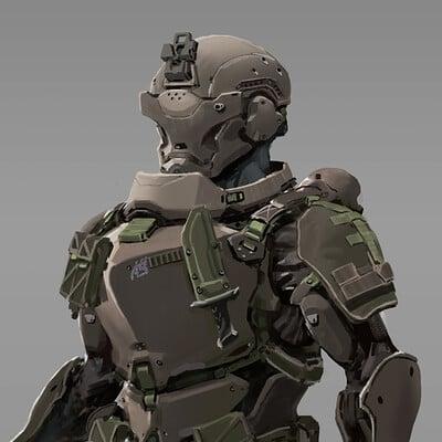 Garrett post promochar armor 3