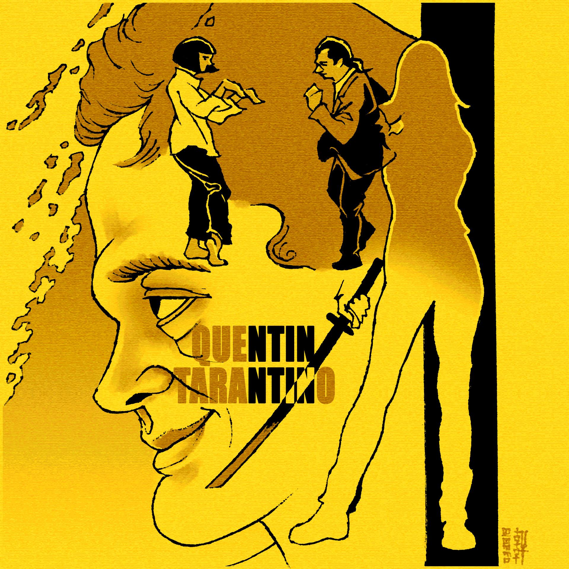 Day 03-27-18 - Quentin Tarantino
