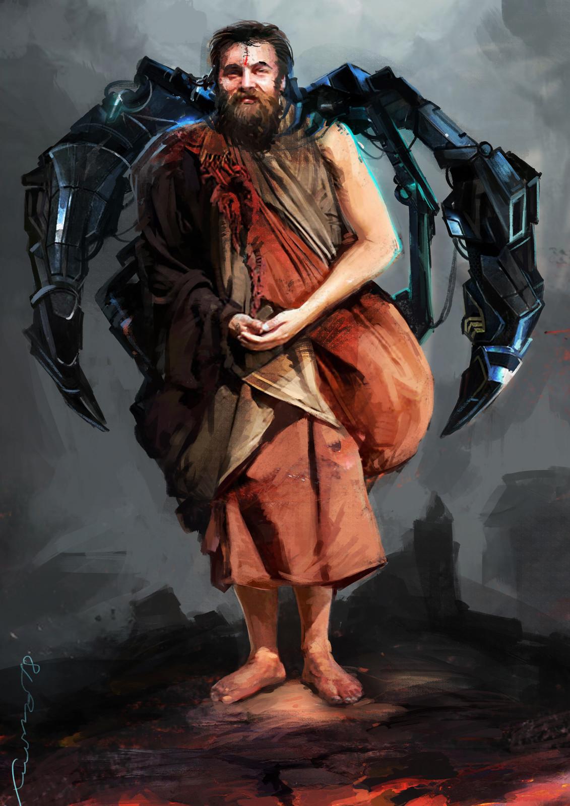 cyber monk 1