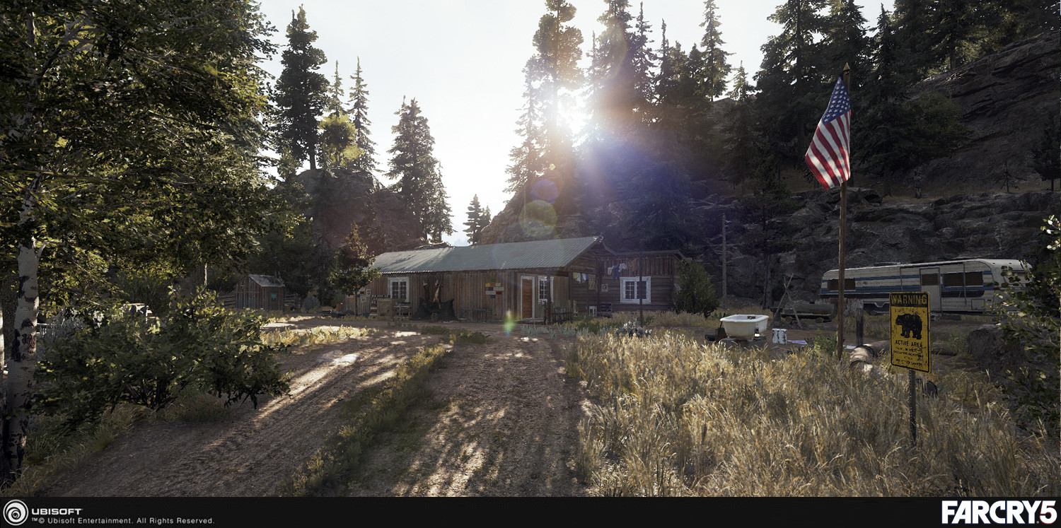 Artstation Far Cry 5 Veteran House Poi Oleg Gamov