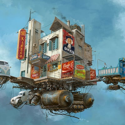 Alejandro burdisio 150 flying mercadito x 8