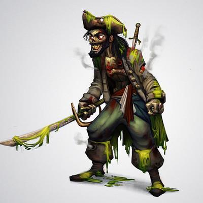 Guilherme freitas pirata zumbi
