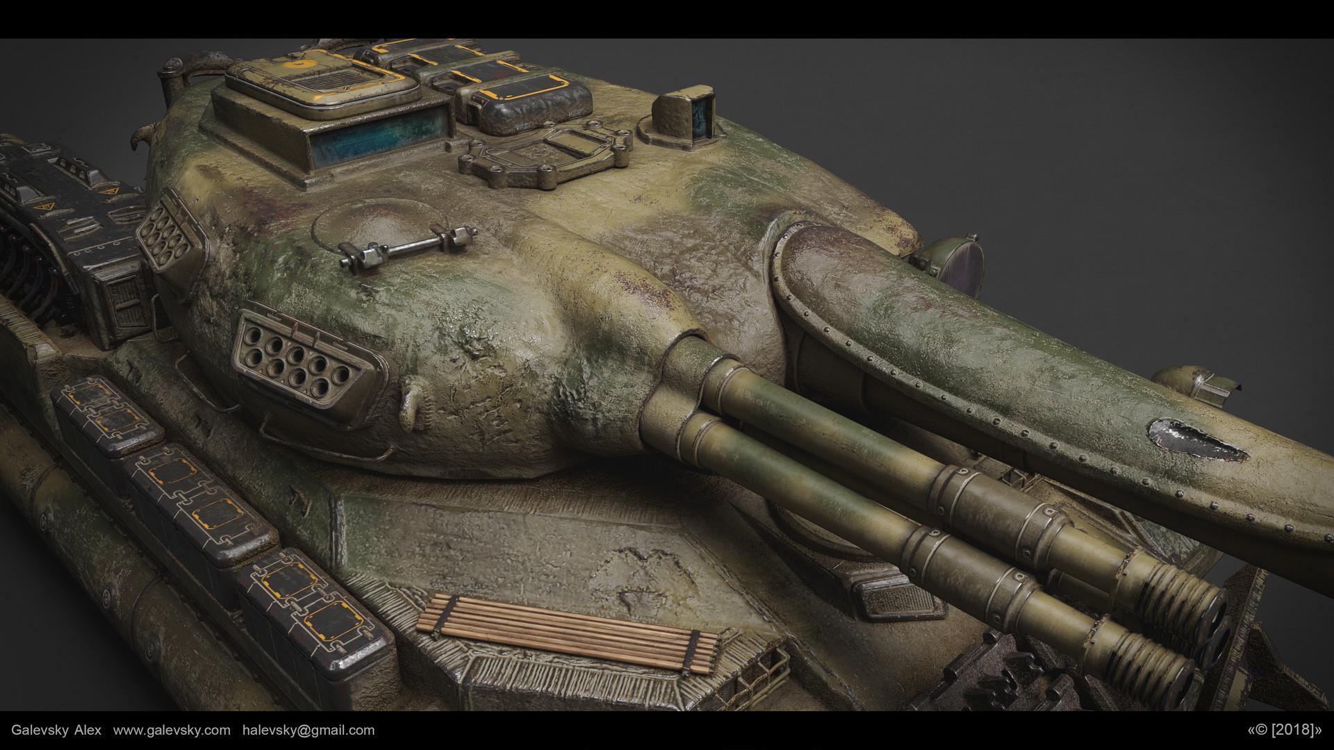 Aleksander galevskyi model 05