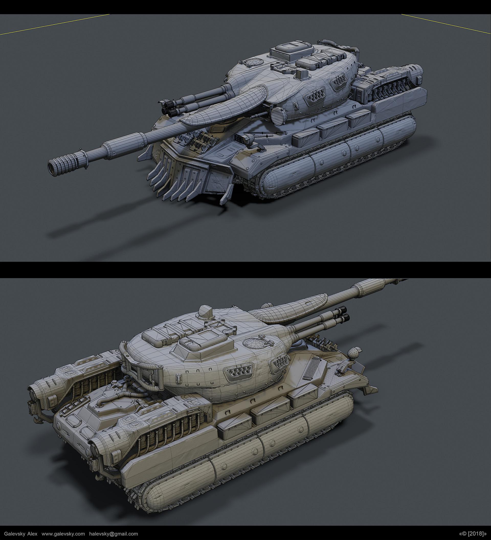 Aleksander galevskyi model 11