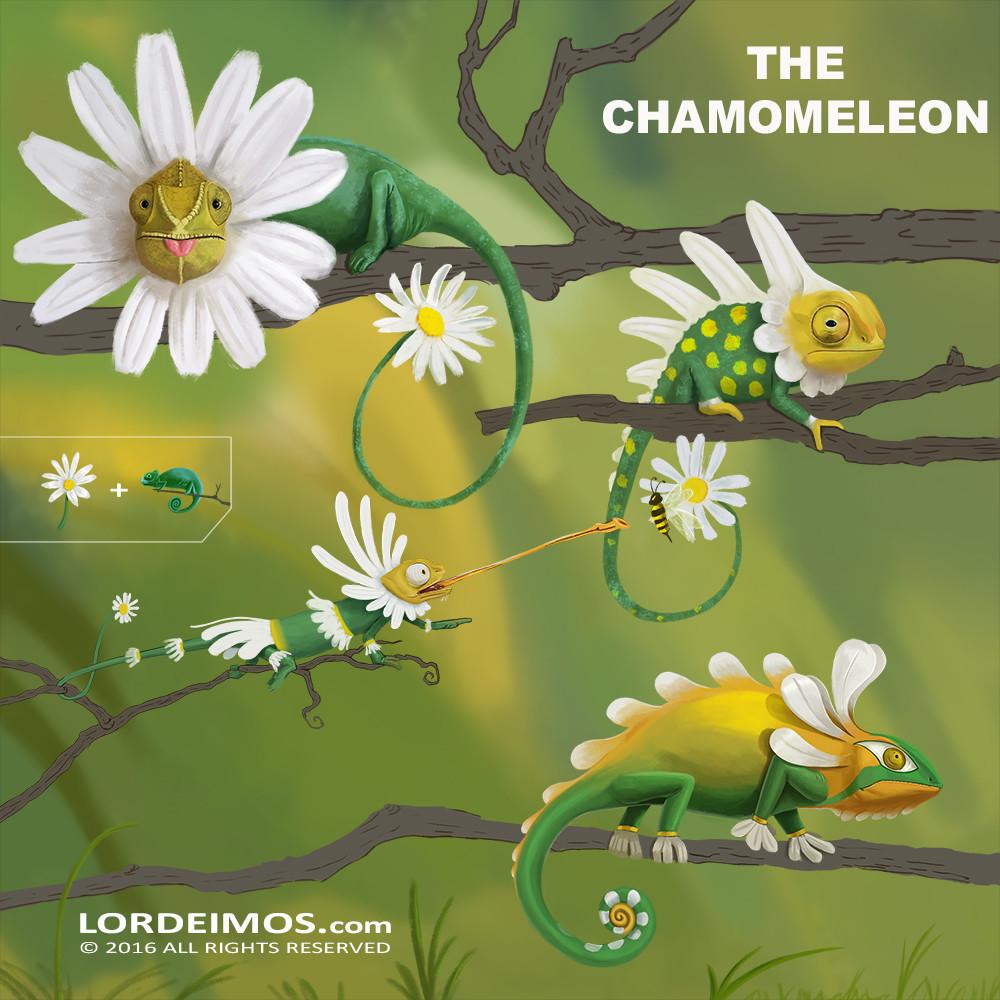 Achilles patsiatzis the chamomeleon