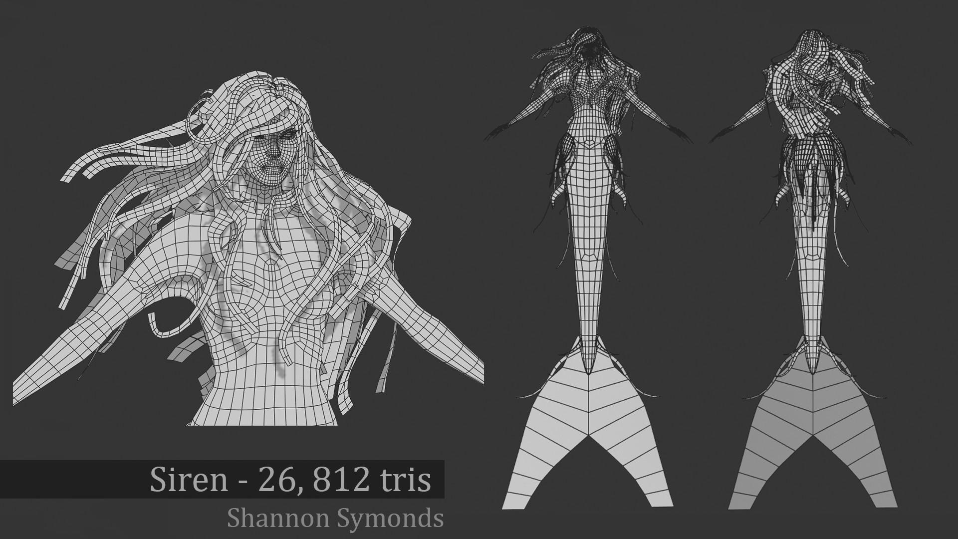 Shannon symonds mermaid tech render
