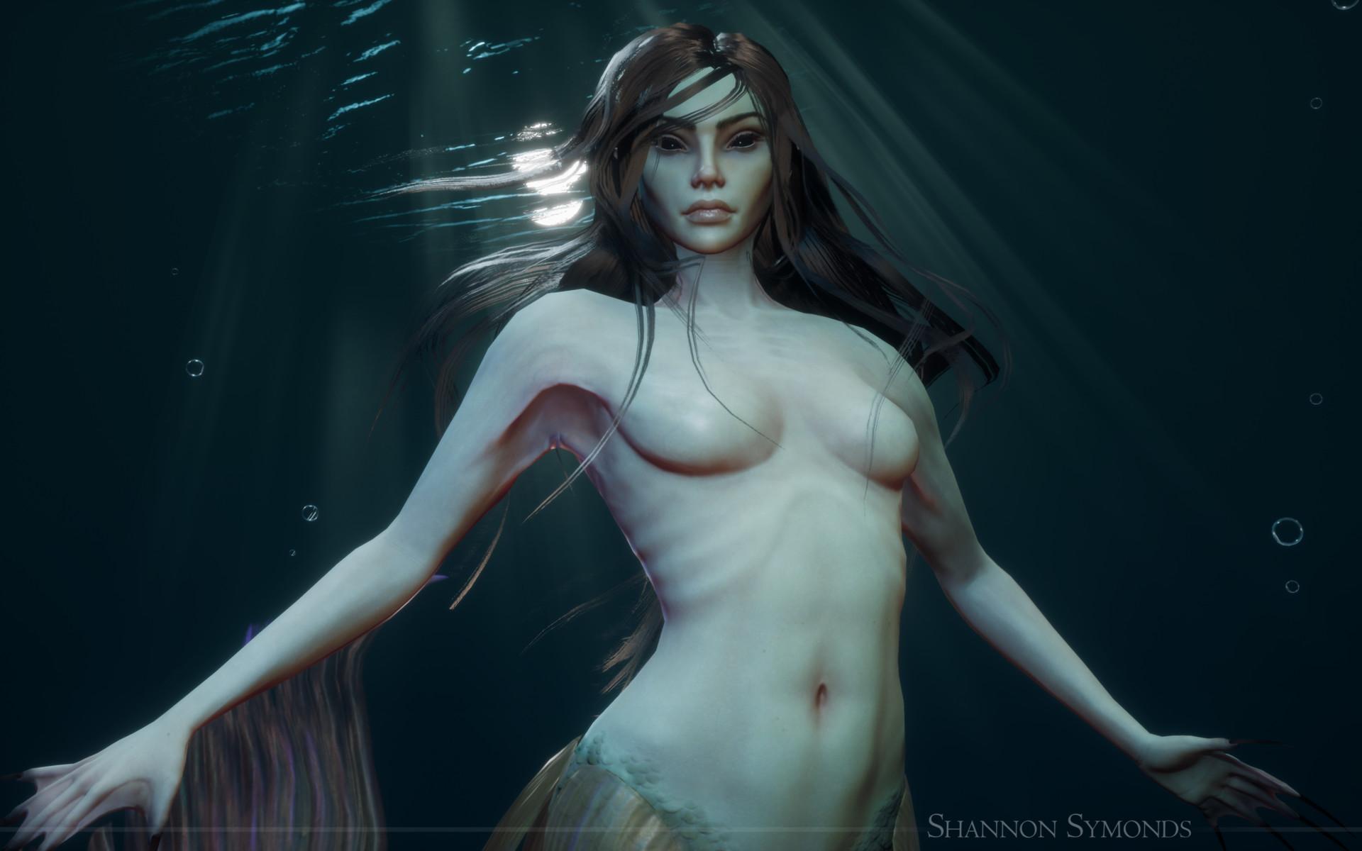Shannon symonds close up mermaid