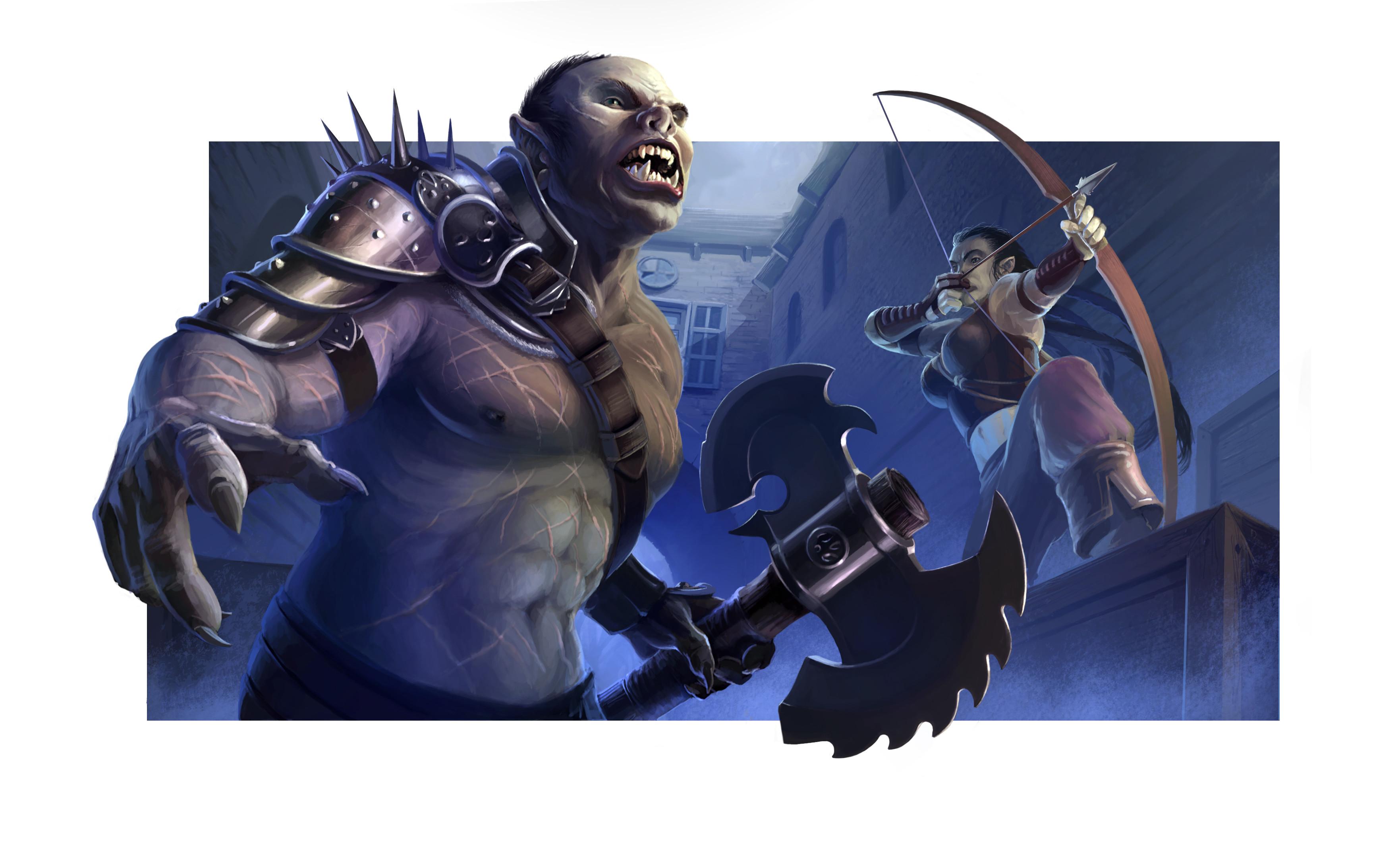 Half Orcs