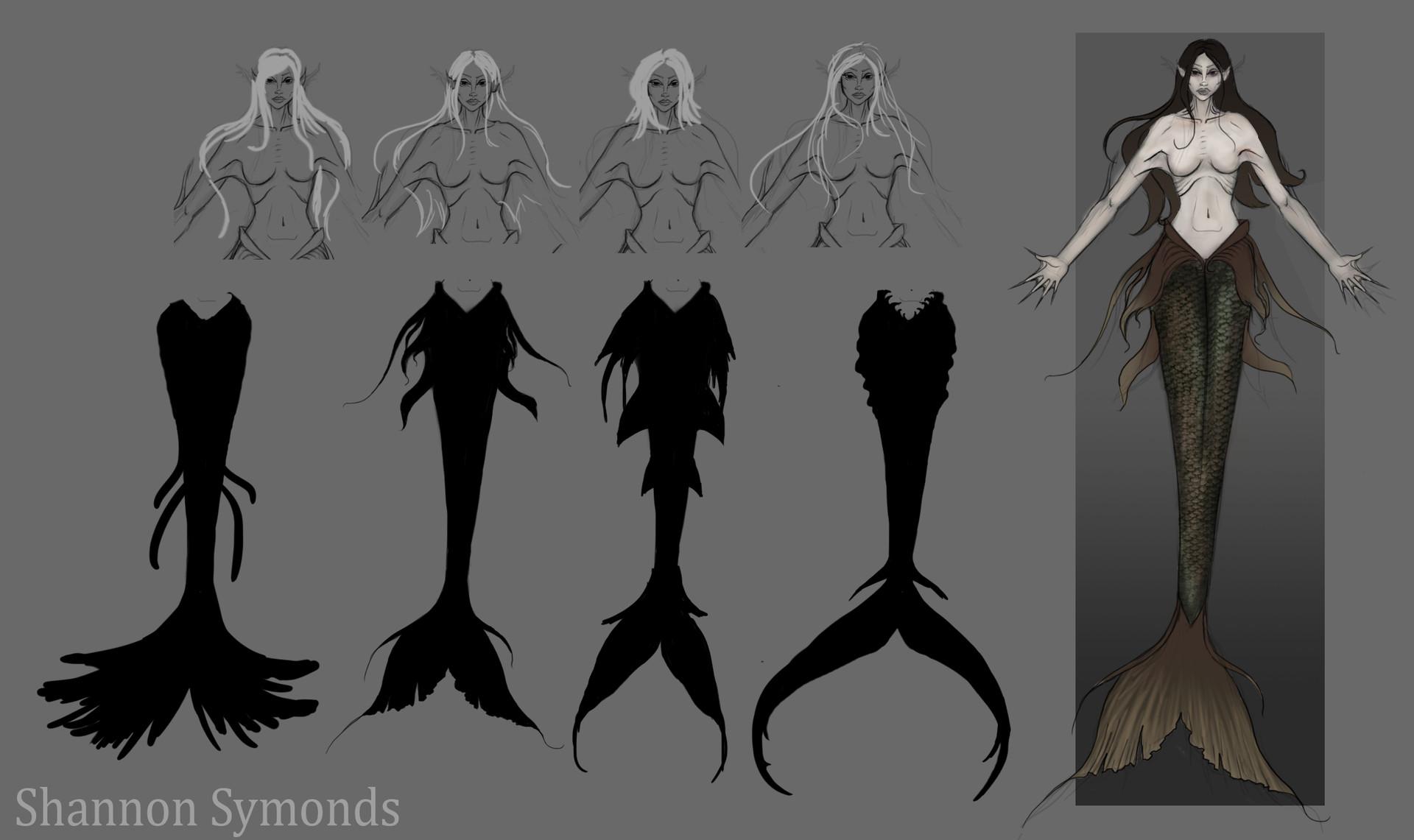 Shannon symonds mermaid concept