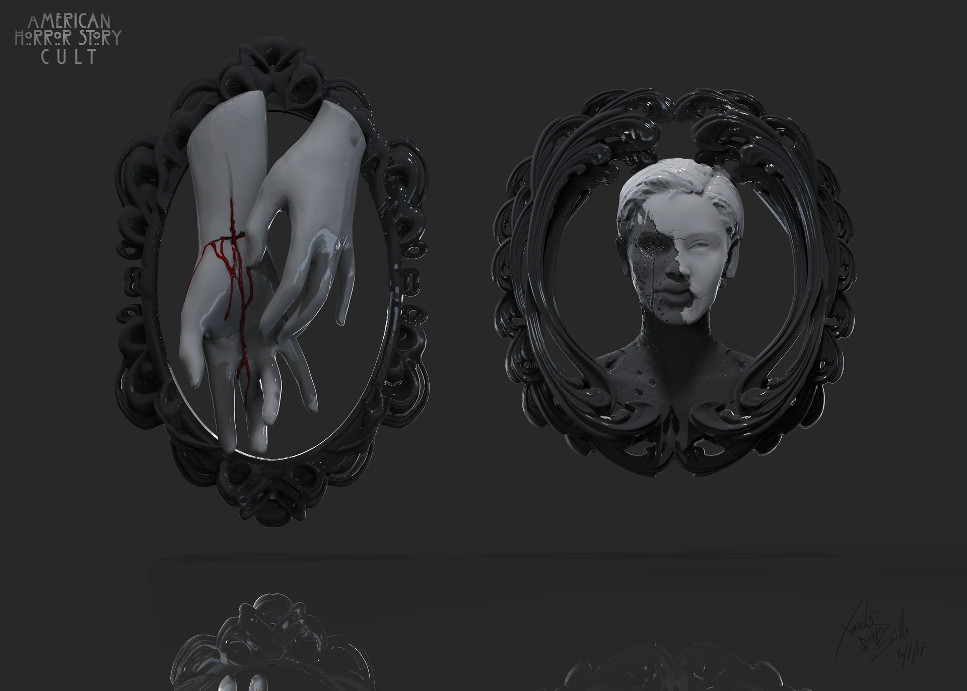 Xander Smith Design American Horror Story Cult Costumes And Props
