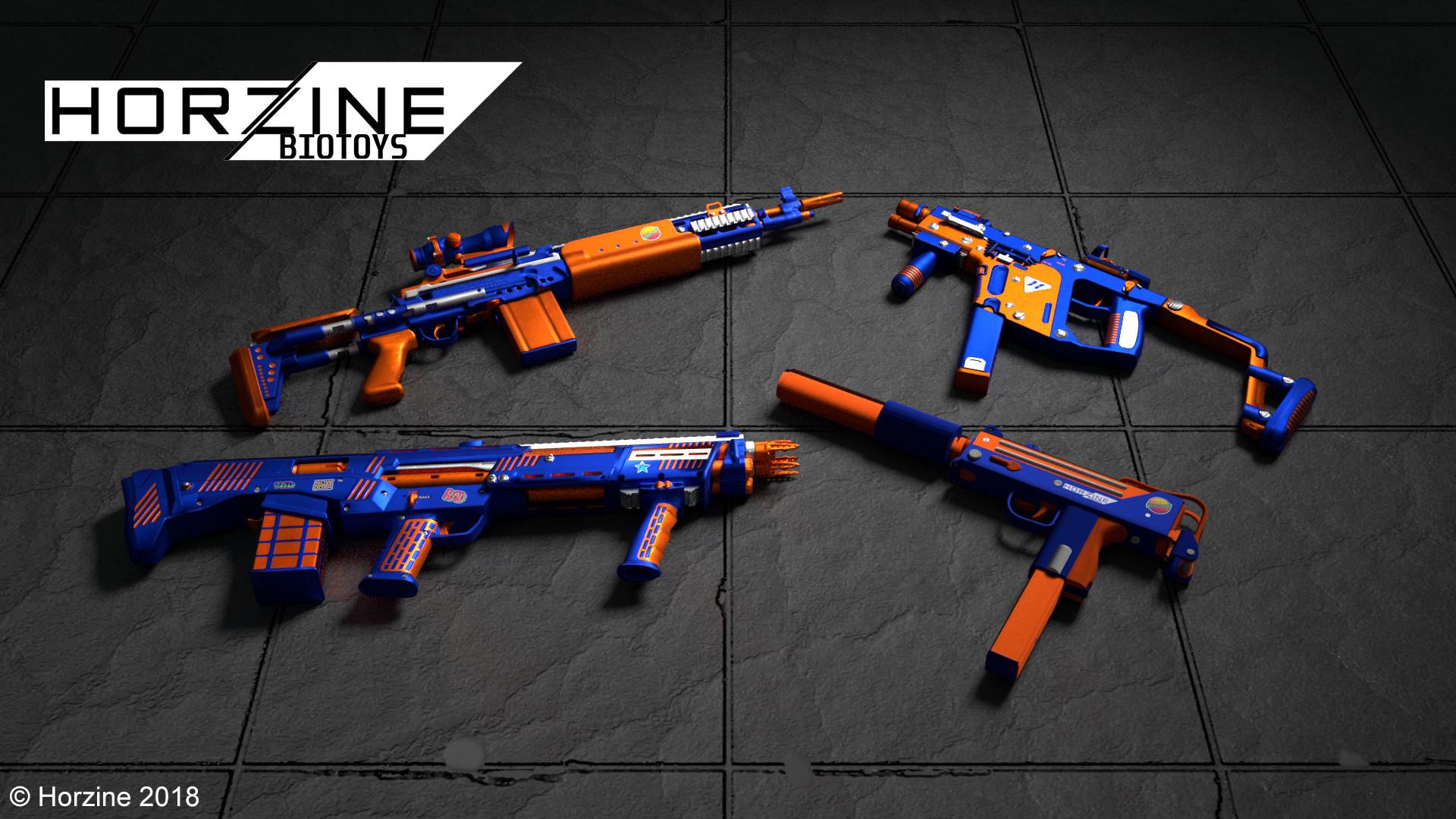 Artstation Z Strike Weapon Set For Killing Floor 2 Dylan Kelly