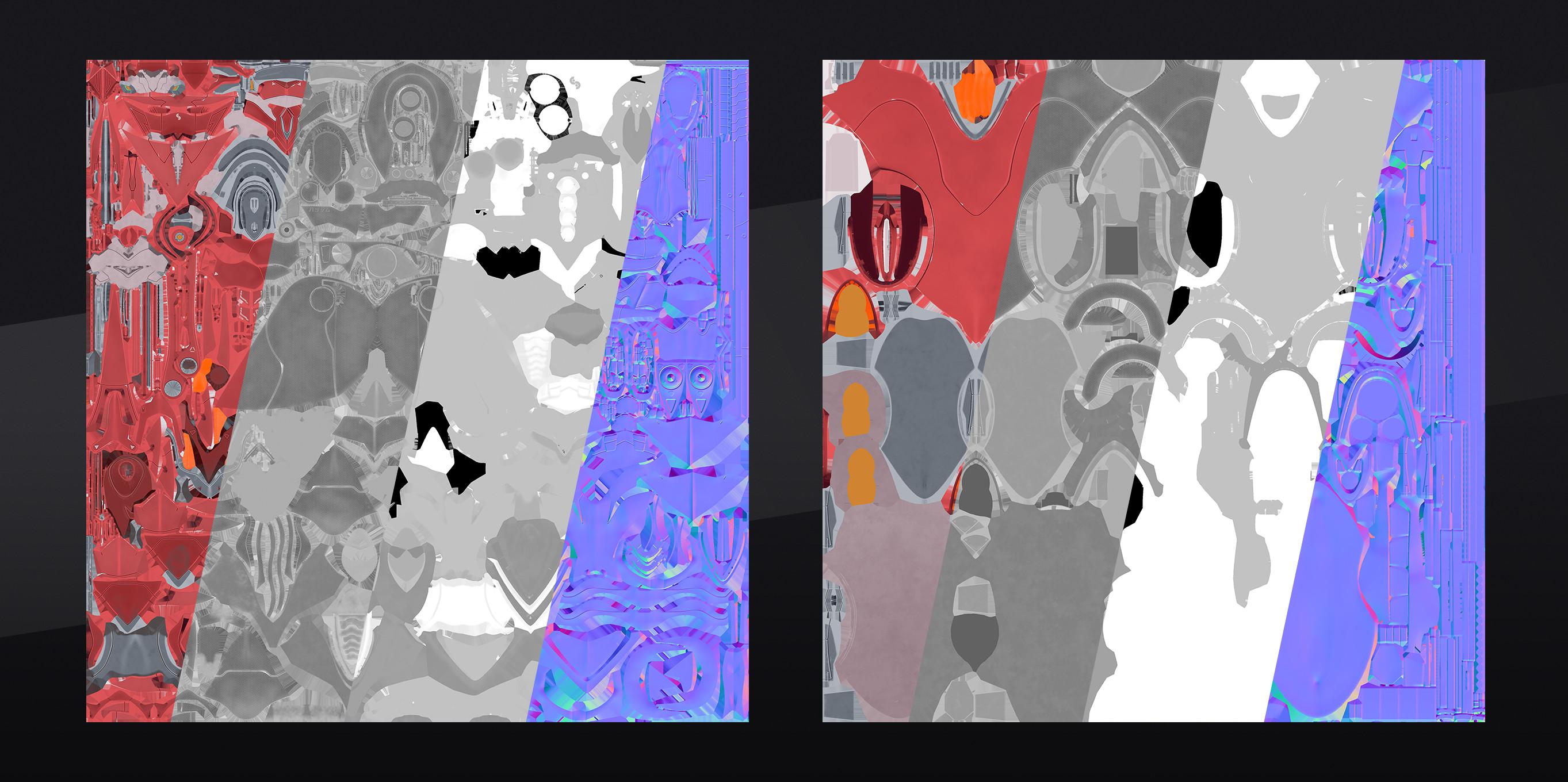2x 4k Texture Sets